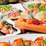 シーンや予算に合わせて選べる、多種多様な飲み放題付宴会コース