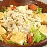 英語の先生BOBUKOBU(ボブコブ)サラダ<豆腐とささみのサラダ>