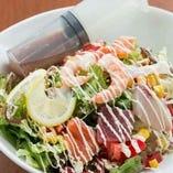 海先生(かいせんせい)サラダ<海鮮サラダ>
