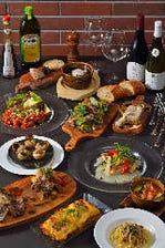 定番の料理6品と2時間飲み放題付!!「居酒屋(ビストロ)プラン スペインバルコース」