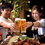 +1,200円でアルコールを含む飲み放題コースをご用意しています!