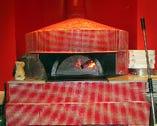 ナポリから運ばれた石窯で焼く本格ピッツァが自慢です♪