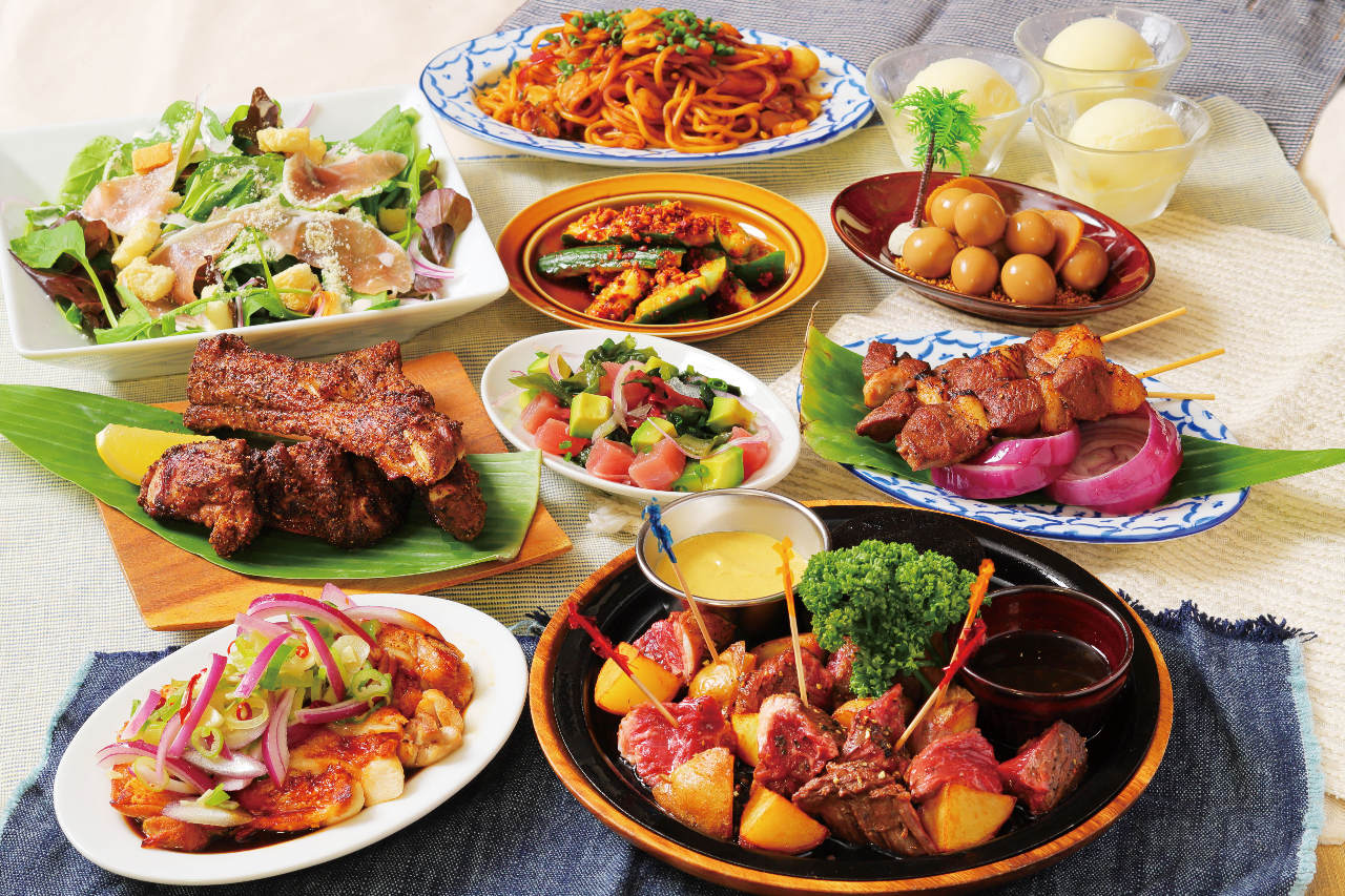 ◆7月限定!◆『超大特価コース』≪料理8品≫【2時間飲み放題付き】カジュアルコースがお得に!