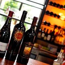 本格伊ワインが1000円から80種以上!