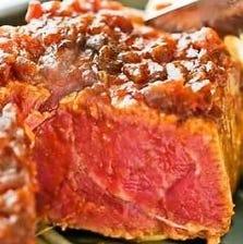 【フルコース】極厚ヒレステーキ・ればてきなど全6品5000円<スタンダードコース>