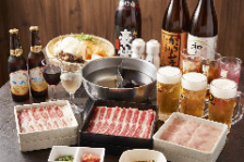 【生ビールも飲み放題】『黒毛牛スタンダード宴会』90分食べ放題+飲み放題コース