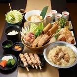 ◆名物水炊きコース◆3H飲み放題付4500円⇒3200円(税込)