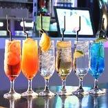 【 乾杯シャンパン付き 】 飲み放題プランは、2時間で2,000円