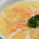カニコーンスープ
