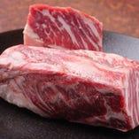 厳選した牛肉を使用!