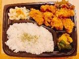 鶏料理専門店のから揚げ弁当