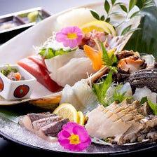 淡路産の鮮魚が自慢