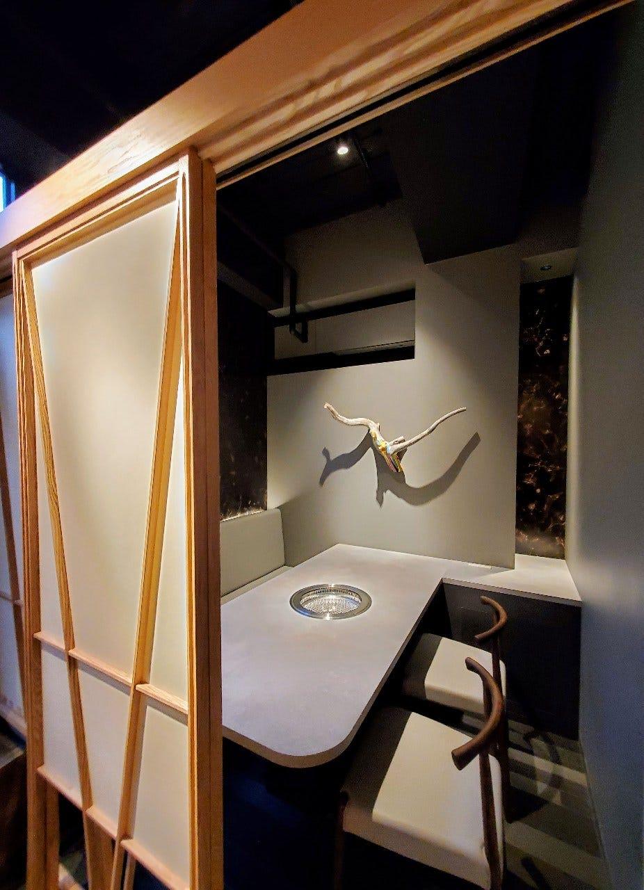 ■襖で仕切られた完全個室のお部屋