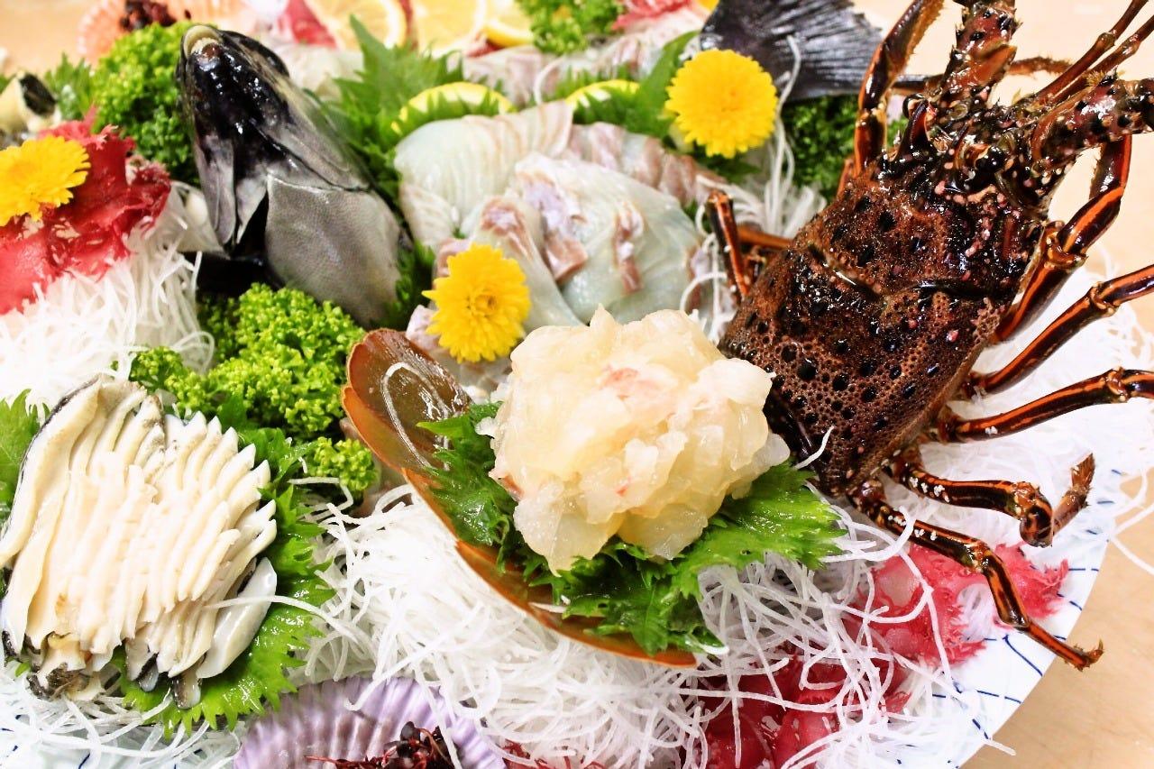 【黒潮活造り大皿盛り】 ■新鮮の極み・産地の味覚を!■