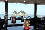 全席オーシャンビュー。南紀白浜のシンボル【円月島】&美しい海の景観と共に!
