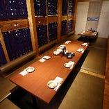【30〜48名様】和モダンな空間で藁焼きや土佐の逸品を味わう個室貸切ご宴会!