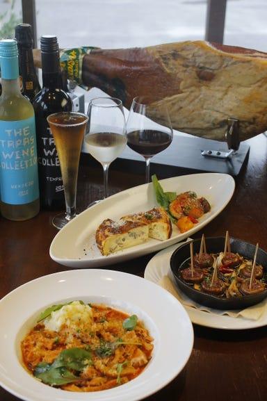 葡萄酒 キッチンバル Casares  コースの画像