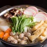 醤油ベースのスープは、具材の旨みでさらに美味しく。