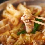「和牛もつ鍋コース」 濃厚でコク深い味わいがやみつきに◎