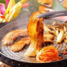 2名様~OK!お肉&野菜食べ放題!