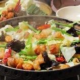 食べ放題の鍋やサムギョプサルは単品もご用意しています!