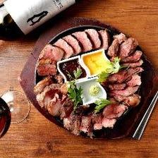 自慢のお肉料理をたくさんご用意!