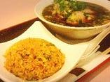 豊富なランチメニューでお手頃に「京風中華」をお楽しみ下さい。