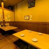 【1F】6〜10名様 掘りごたつテーブル