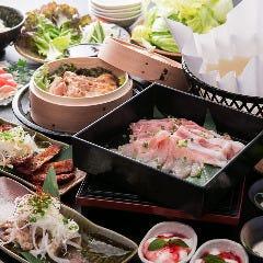 和紙しゃぶと旬鮮魚 個室空間 ‐虎てつ田町店‐