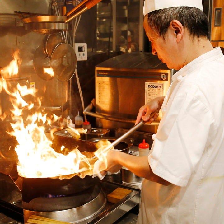 本格中華料理を味わえる