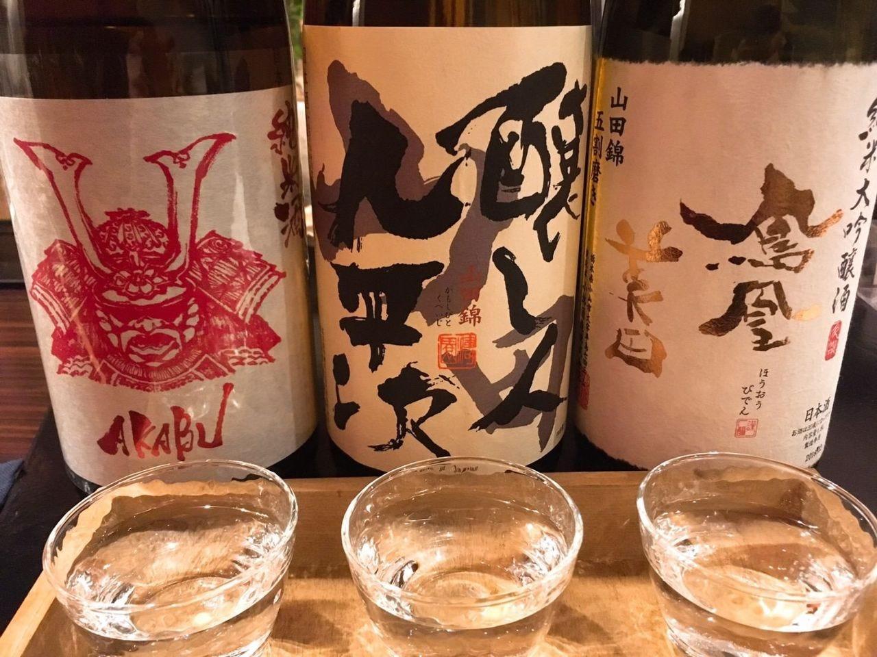 常時30種類以上!日本酒半額DAYも♪