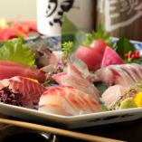 旬の鮮魚お造り盛り合わせ