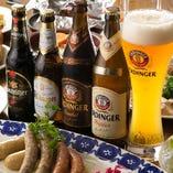 [料理に合う美酒] 店長一押しドイツビール他、ワインなど多数♪