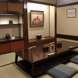 接待・ご会食には個室をご用意してます。