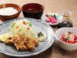 《平日限定》北海道産 かきフライ定食
