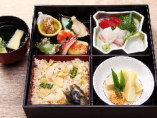 竹の子御飯弁当
