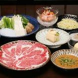 【国産牛ロース】 しゃぶしゃぶ定食