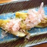 焼茄子(生姜醤油)