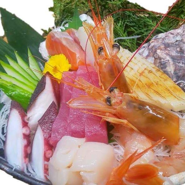 お造り→岡山県マルツ醤油の新味醤油