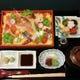 海鮮ちらし膳1800円(税別)