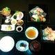 華やか三段重2400円(税別)