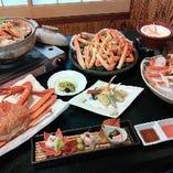 ≪おすすめ≫ 刺身、焼き、茹で!蟹づくしの紅ズワイ蟹コース!