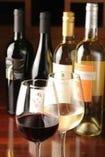 こだわりのワインを各種揃えております。