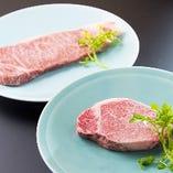 【肉料理が嬉しい】 ボリュームのある肉料理を含む会席が人気