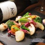 焼き三浦野菜の盛り合わせ