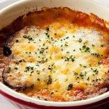 茄子のミートソース チーズオーブン焼き