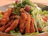 梅豚(うめとん)サラダ