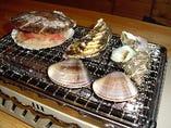 海鮮バーべキュー焼き(要予約)