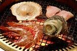 海鮮バーベキュー(予約必要)