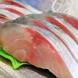 しめ鯖&サバの刺身